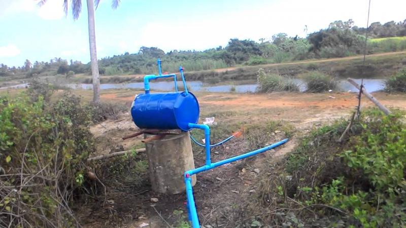กาลักน้ำ กับภูมิปัญญาชาวบ้าน เหมาะสำหรับการกักเก็บน้ำของเกษตรกร
