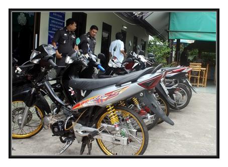 วิธีป้องกันขโมยลักรถจักรยานยนต์