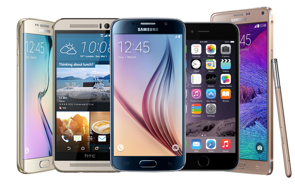 สมาร์ทโฟนที่ดีที่สุด Best smartphones 2016