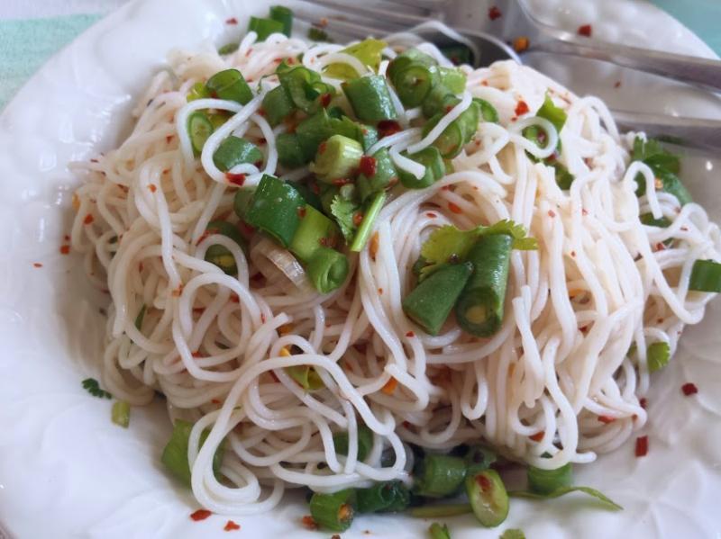 ขนมจีนน้ำปลาร้าต้ม สูตรง่ายๆ