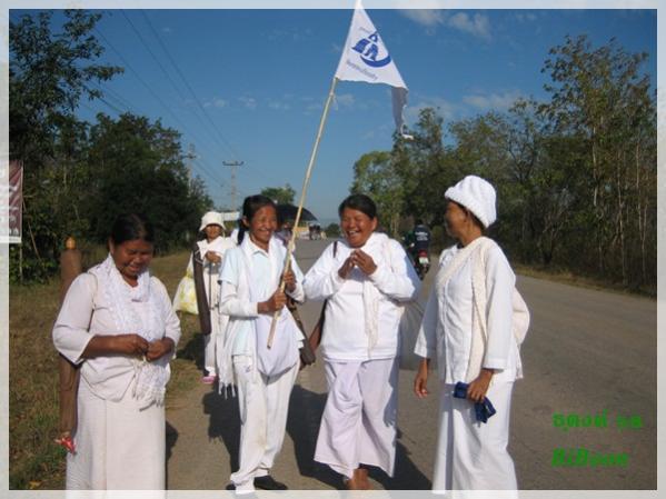 014 หลวงพ่อพระครูศรี จาริกธุดงค์เฉลิมพระเกียรติ ครั้งที่ 19