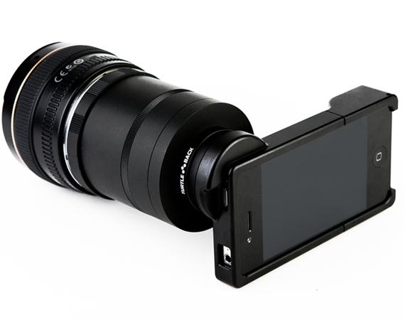 Adapter For Canon + Nikon SLR Lenses