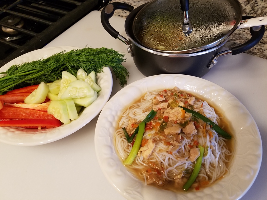 ขนมจีนน้ำยาป่าปลาทู