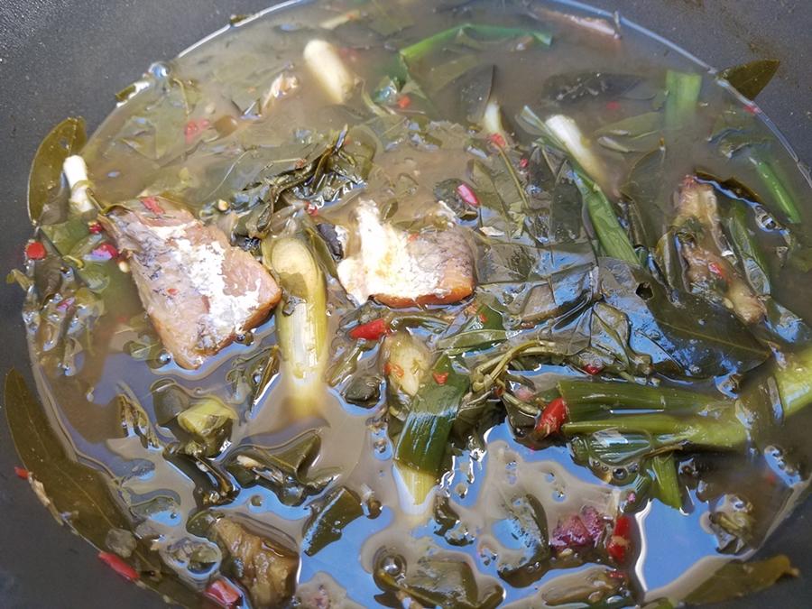 แกงขึ้เหล็กปลาขี้โกะ