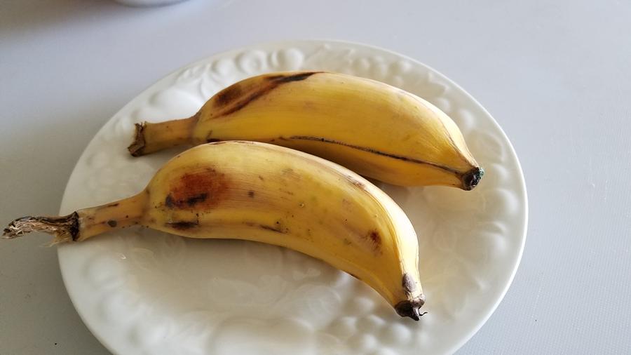 กล้วยสุกอบไมโครเวฟ 2 นาที